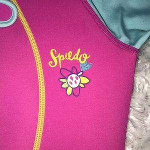 Speedo Swim - Speedo Pink Short sleeve/shorts Wetsuit Size 7/8